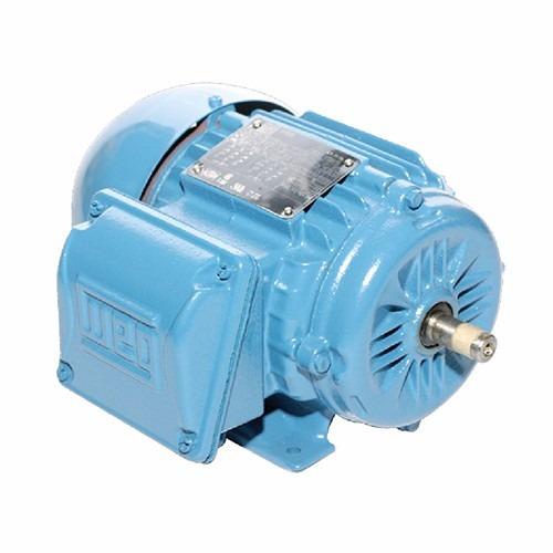 motor electrico trifasico potencia 1hp 2 polos marca weg.