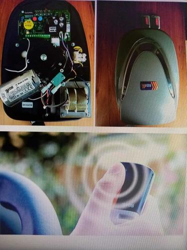 motor electrónico para puertas automáticas 100 % italiano