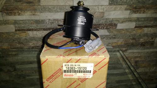 motor electroventilador corolla original años 1997 al 2002