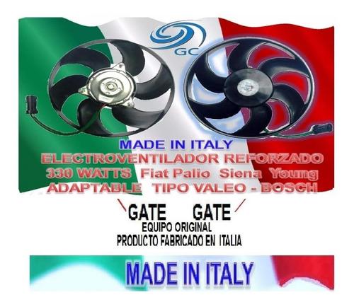 motor electroventilador fiat palio siena young  g.c. gate