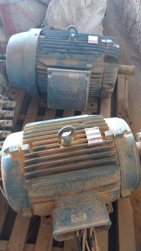 motor eletrico 40 cv - trifasico - 3.750 rpm - usado