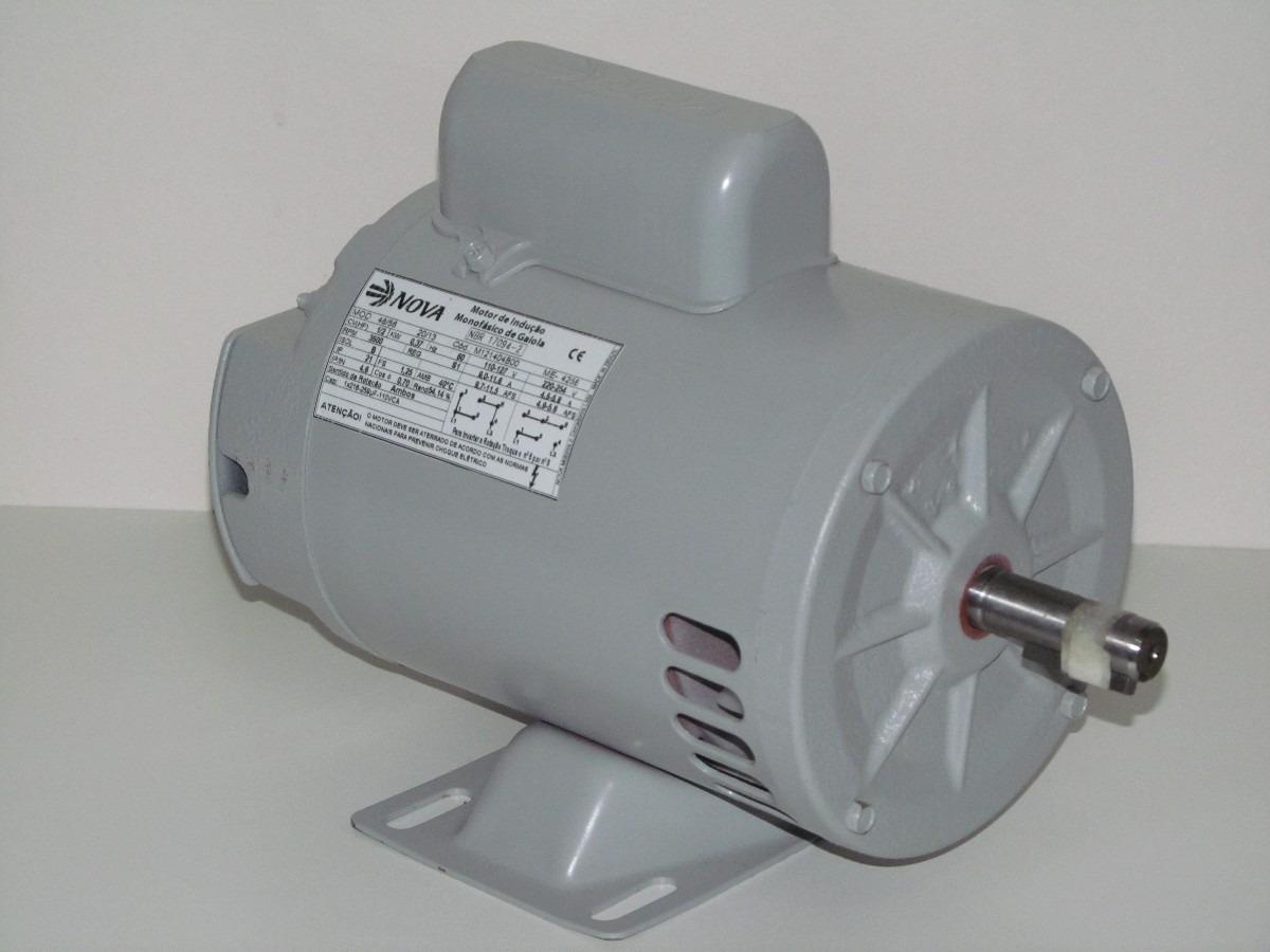 motor el u00e9trico monof u00e1sico 1  2  0 5  cv 2 p u00f3los alta rota u00e7 u00e3o