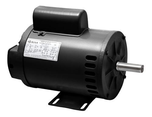 motor elétrico monofásico 1/4cv 2p alta rotação 110/220 nova
