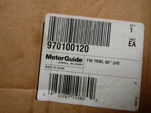 motor elétrico motorguide w75 75wl 60  24v