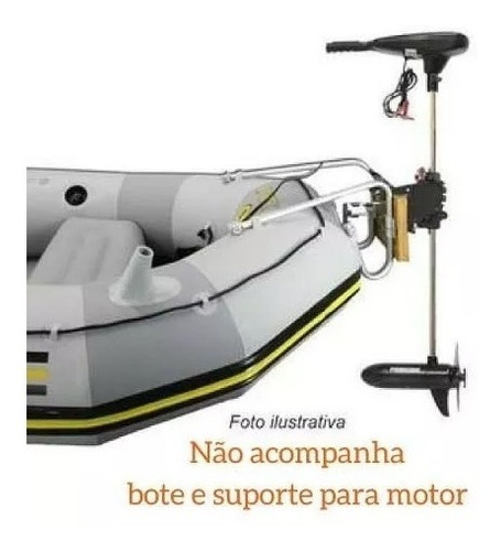 motor eletrico phantom digital 54 lbs agua doce barco lancha