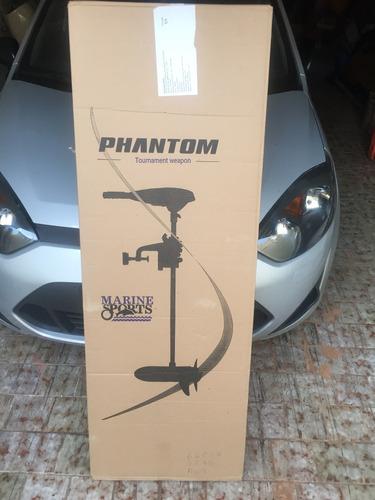 motor elétrico phanton 50 lbs digital marinizado 2018