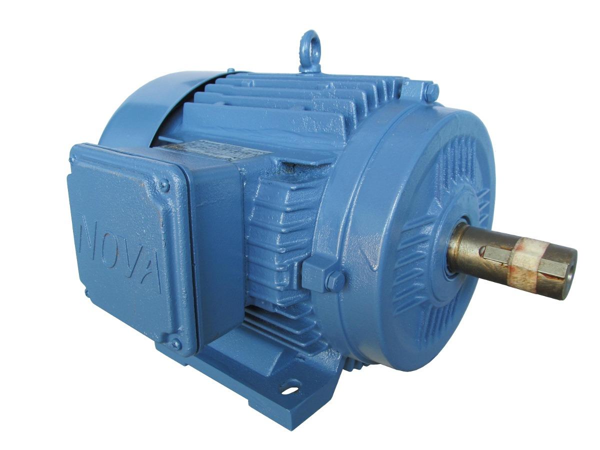 motor el u00e9trico trif u00e1sico blindado 7 5cv 4p u00f3los baixa rota u00e7 u00e3o