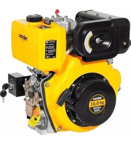 motor estacionario 10hp diesel vonder