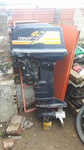 motor evinrude 40 hp 2t año 92 reparado a nuevo