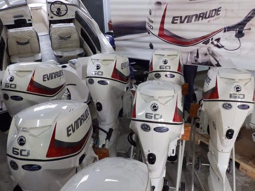 motor evinrude e-tec 60 hp garantia 5 años nautica milione