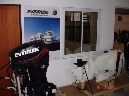 motor evinrude e-tec 75 hp ecol 5 años de garantia oficial!