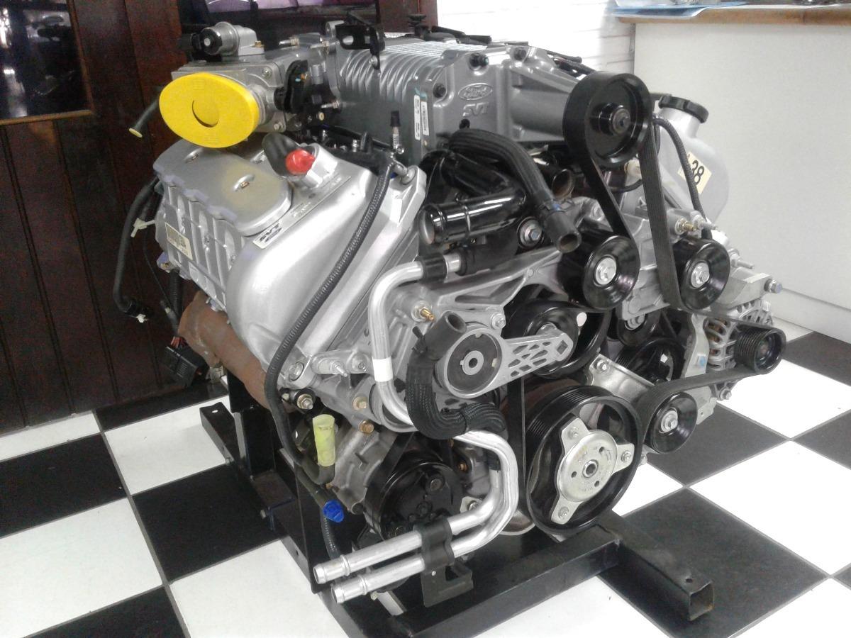 Motor Ford V8 Mustang Gt Svt 4.6 Litros Blower Injetado