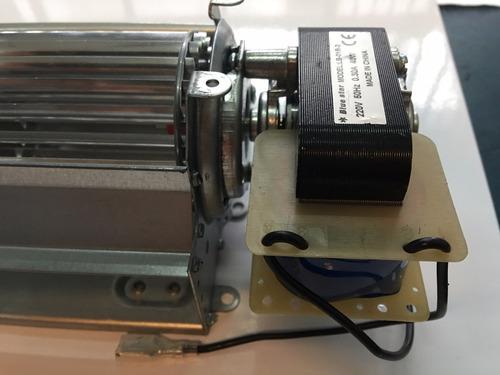 motor forsador turbina tangencial  24 cm heladera exhibidora