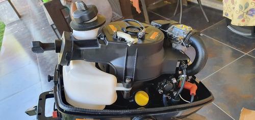 motor fuera borda 5hp pata larga, 4 tiempos