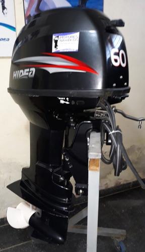 motor fuera borda hidea 60 hp 2t elect 0km. mercury yamaha