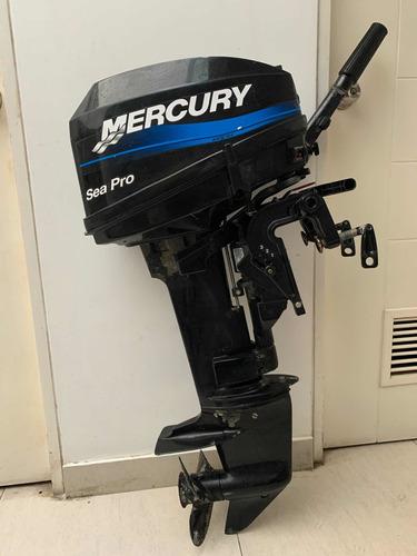 motor fuera borda mercury sea pro 15 hp con tanque y manguer