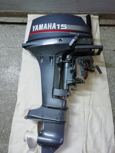 motor fuera borda yamaha 15hp  15ds