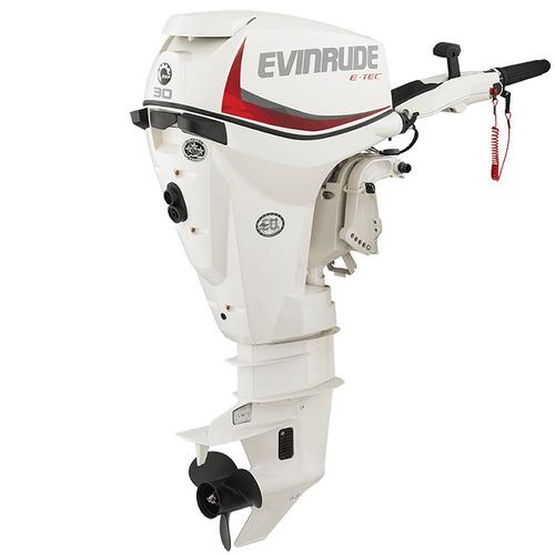 motor fuera de borda evinrude e-tec 30 hp  2 tiempos