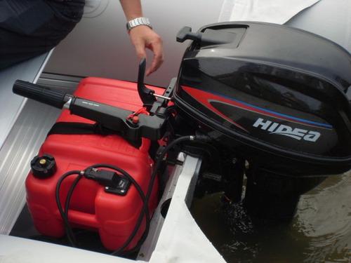 motor fuera de borda hidea 20 hp 2 t pata corta