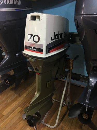 motor fuera de borda johnson 70 hp 2t pata larga usado
