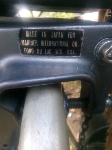 motor fuera de borda mariner 9.9