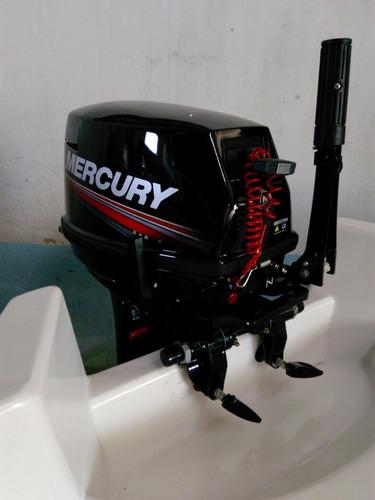 motor fuera de borda mercury 15 hp 0 horas. nautica garrido