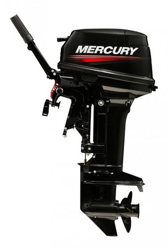 motor fuera de borda mercury 15 hp m super, 2 tiempos