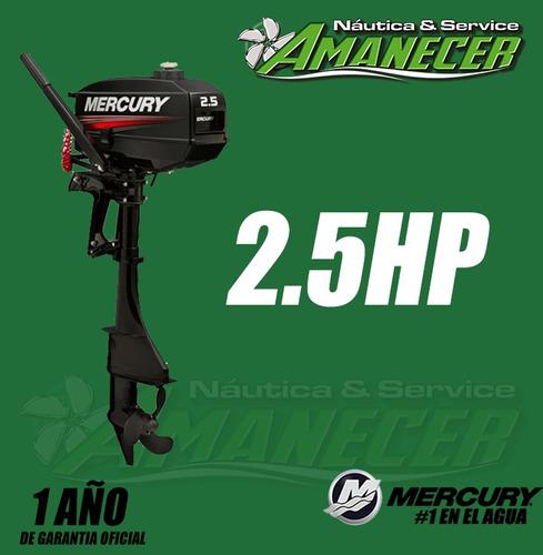 motor fuera de borda mercury 2.5 2 tiempos dolar oficial!!
