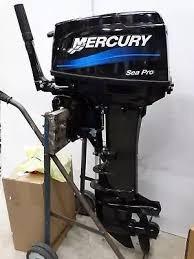 motor fuera de borda mercury 25 hp 2t sea pro