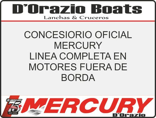 motor fuera de borda mercury 3.3 hp 2 tiempos 2018 dorazio