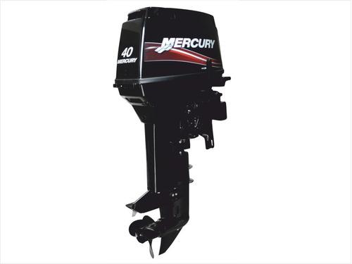motor fuera de borda mercury 40 hp 2 tiempos 3 cil arrq elec