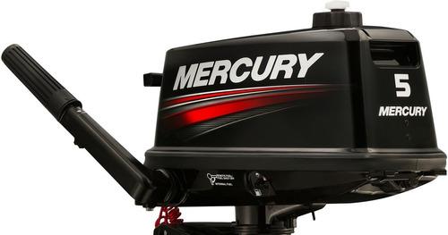 motor fuera de borda mercury 5 hp m, 2 tiempos
