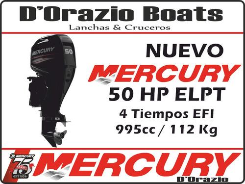 motor fuera de borda mercury 50 hp 4 tiempos full dorazio