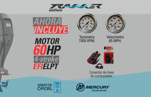 motor fuera de borda mercury 60 hp 4 tiempos efi trakker