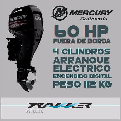 motor fuera de borda mercury 60 hp 4t efi ct
