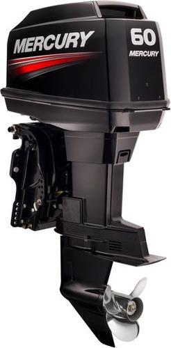 motor fuera de borda mercury 60 hp elpto , 2 tiempos