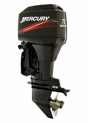 motor fuera de borda mercury 75 hp 2 tiempos trakker