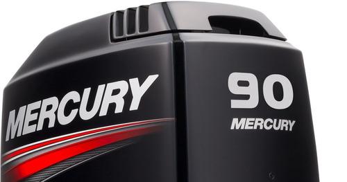 motor fuera de borda mercury 90 hp elpto , 2 tiempos