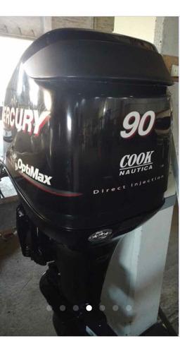 motor  fuera de borda mercury 90 hp optimax para lancha