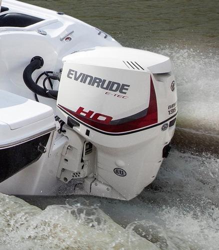 motor fuera de borda nautico evinrude etec 135 hp ho (nuevo)