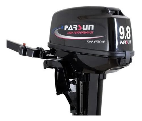 motor fuera de borda parsun 2t 9.8 hp pata larga full