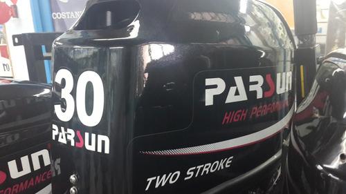 motor fuera de borda parsun 30 hp 2 tiempos manual corto