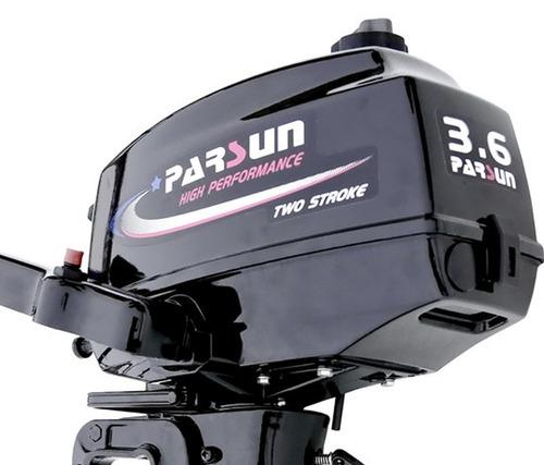 motor fuera de borda parsun 3.6 hp 2 tiempos corto oferta