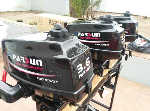 motor fuera de borda parsun 3,6 hp 2t - nuevo - en caja !!!