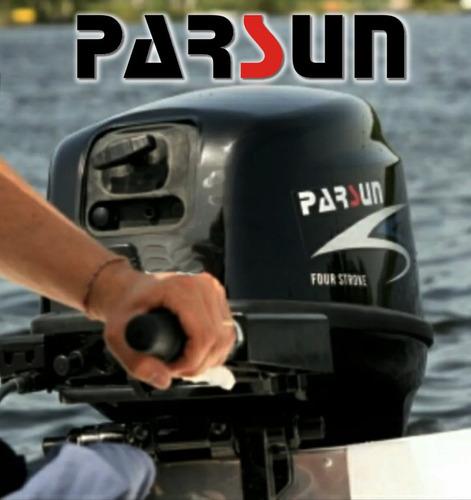 motor fuera de borda parsun 4 tiempos 9.8hp pata larga
