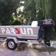 motor fuera de borda parsun 40 hp eléctrico largo + comand