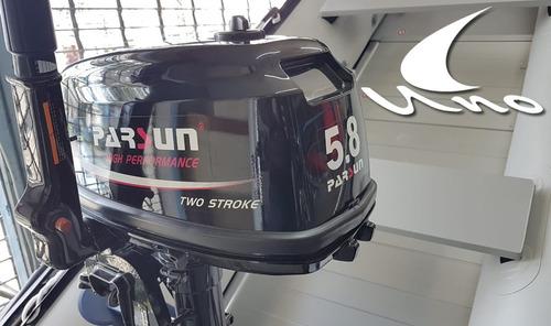 motor fuera de borda parsun 5.8 hp 2t corto 2019 garan 2 año