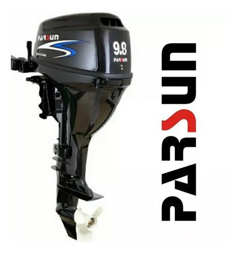 motor fuera de borda parsun 9.8hp 4 tiempos corto