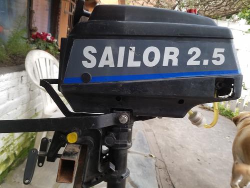 motor fuera de borda  saylor 2.5 hp 2 t