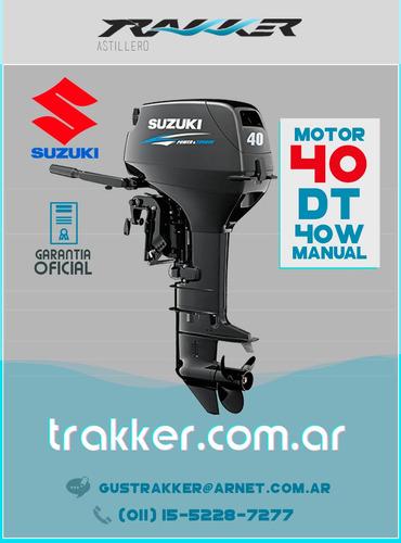 motor fuera de borda suzuki 40 hp dt40ws manual